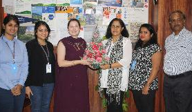 San Jose State University, California USA Representative Visit to our office in Andheri East